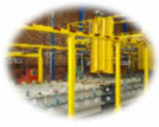 graphic automatic electroplating plant